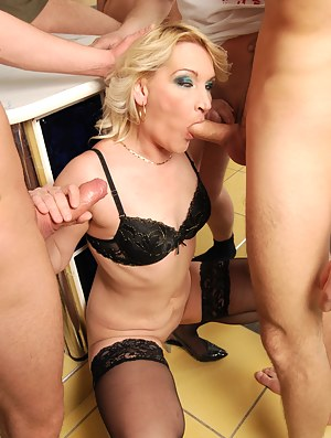 Sexy Moms Gangbang Porn Pictures