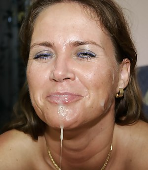 Sexy Moms Facial Porn Pictures